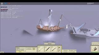 ROBLOX: Tradelands Naval Battle Maneuvering (en)