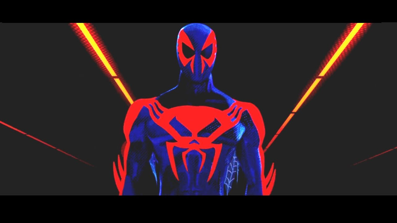 Into the Spiderverse Spiderman 2099