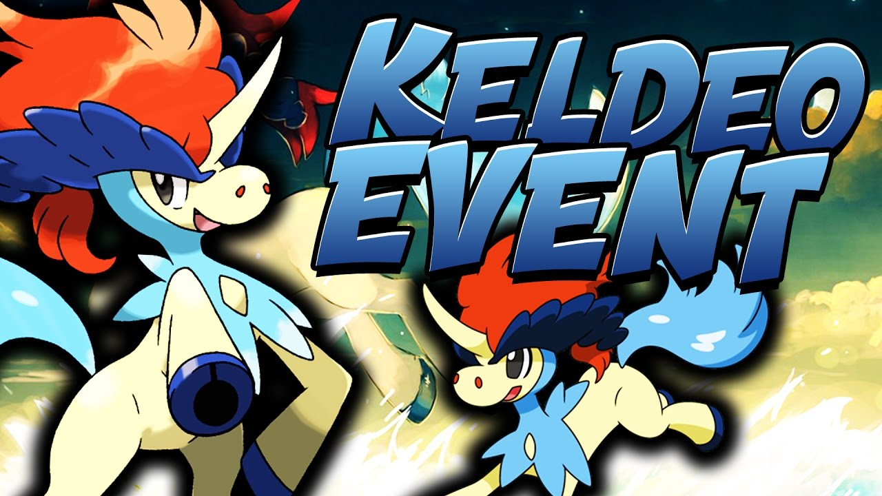 HOW TO GET KELDEO EVENT IN ORAS AND XY - YouTube