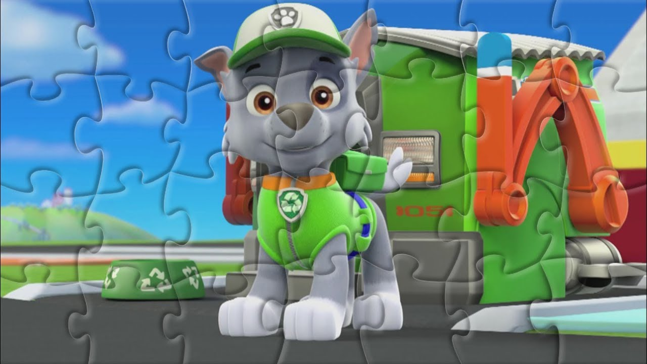 Jigsaw Puzzle Of 28 Pieces 🌺PAW PATROL🌺 Learn puzzle game