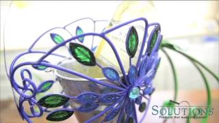 Peacock Planter | Decoration Style | Solutions