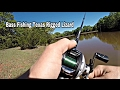 Bass Fishing Texas Rigged Murky Water