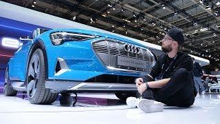 Посмотрели электрический Audi e-tron - круче Tesla Model X?