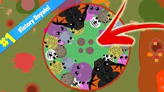Mope.iO BATTLE ROYALE GAME MODE *WIN* // HOW TO WIN GUIDE ON NEW BETA UPDATE SECRET TRICK (Mope.io)