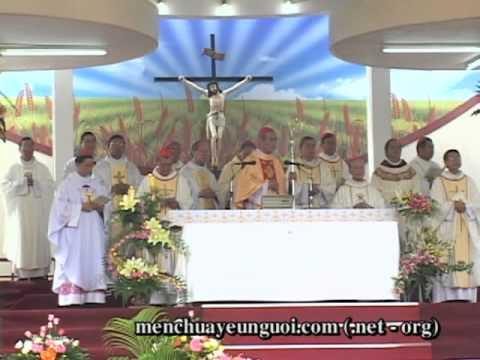 Giáo Phận Phú Cường Thánh Lễ Tạ Ơn & Chuyển Giao Sứ Vụ GM Giáo Phận Clip 1