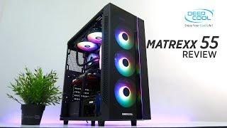 VLOG: Deep Cool Matrexx 55 RGB Dual TG Case Review [Ph]