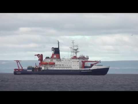 Rompe hielos PolarStern Punta Arenas - Chile 2016