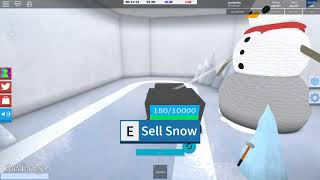 NO!!!! The sleigh its now offsale!! - [ROBLOX]Snow shoveling