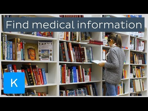 How to find medical research and literature – Human Anatomy | Kenhub