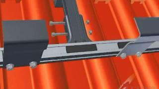 Zonneboiler installeren opdak vlakke zonnecollector