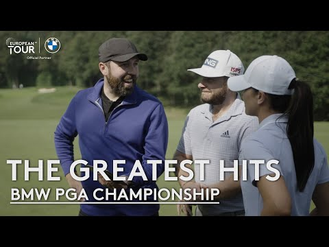 Tyrrell Hatton, Rick Shiels & Annabel Dimmock recreate a Seve shot and more.. | BMW PGA Championship