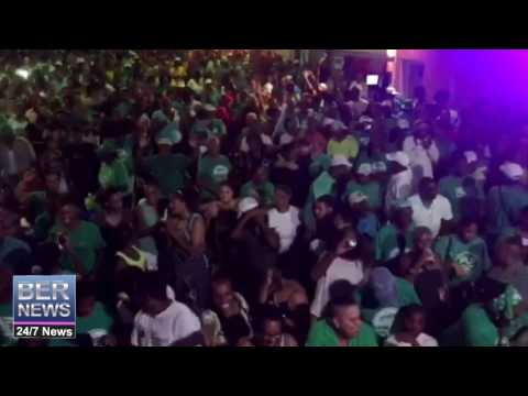 PLP Supporters In Full Celebration Mode, July 18 2017
