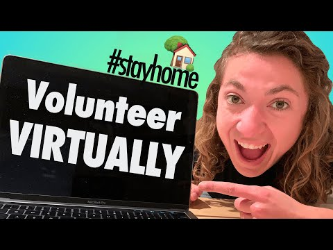 5 Ways to Volunteer VIRTUALLY \\ COVID-19 #stayhome