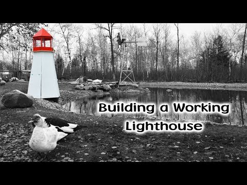 Lighthouse Build On The New Pond
