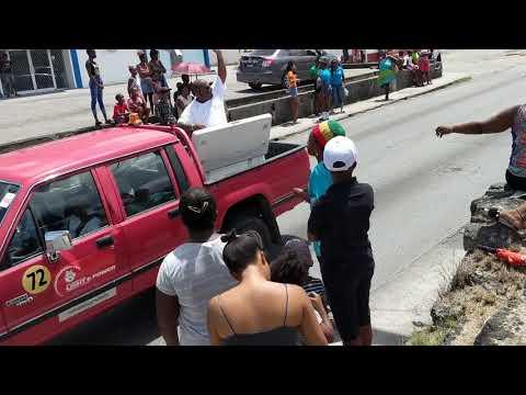 May day parade Barbados