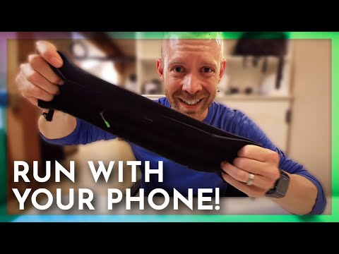 Running With Your Phone Without An Armband