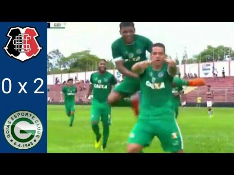 Santa Cruz 0 x 2 Goiás - Melhores Momentos Copa SP de Futebol Júnior (06-01-19)
