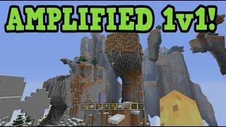 Minecraft Xbox AMPLIFIED UHC 1v1 W/ ECKOxSoldier
