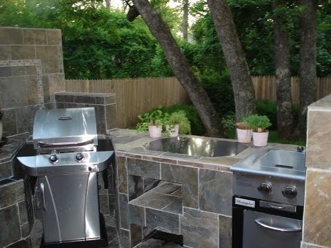 outdoor kitchen kits small space outdoor kitchen kits home depot youtube
