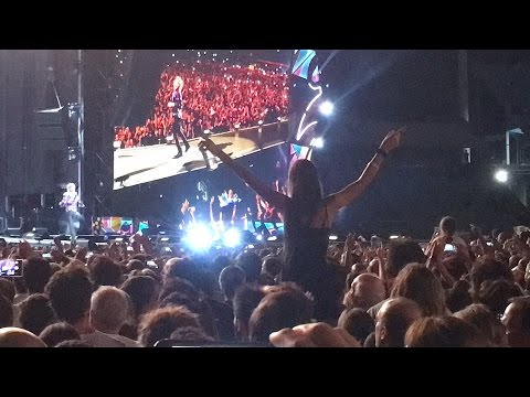 Tumbling Dice - Rolling Stones en Uruguay 2016