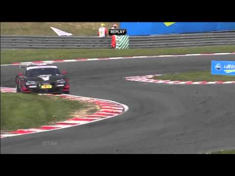 DTM Brands Hatch Edoardo Mortara Crashes