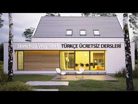 Sketchup Vray Next Türkçe Dersleri 06