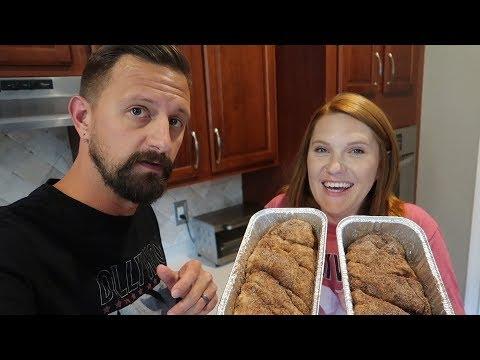 We Made Dollywood's Famous Cinnamon Bread! | 7 Hour DIY Theme Park Food Baking FAIL!