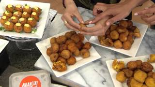 Arancini Bros. (45) 1 Oz. Italian Stuffed Rice Balls With Christie Fletcher
