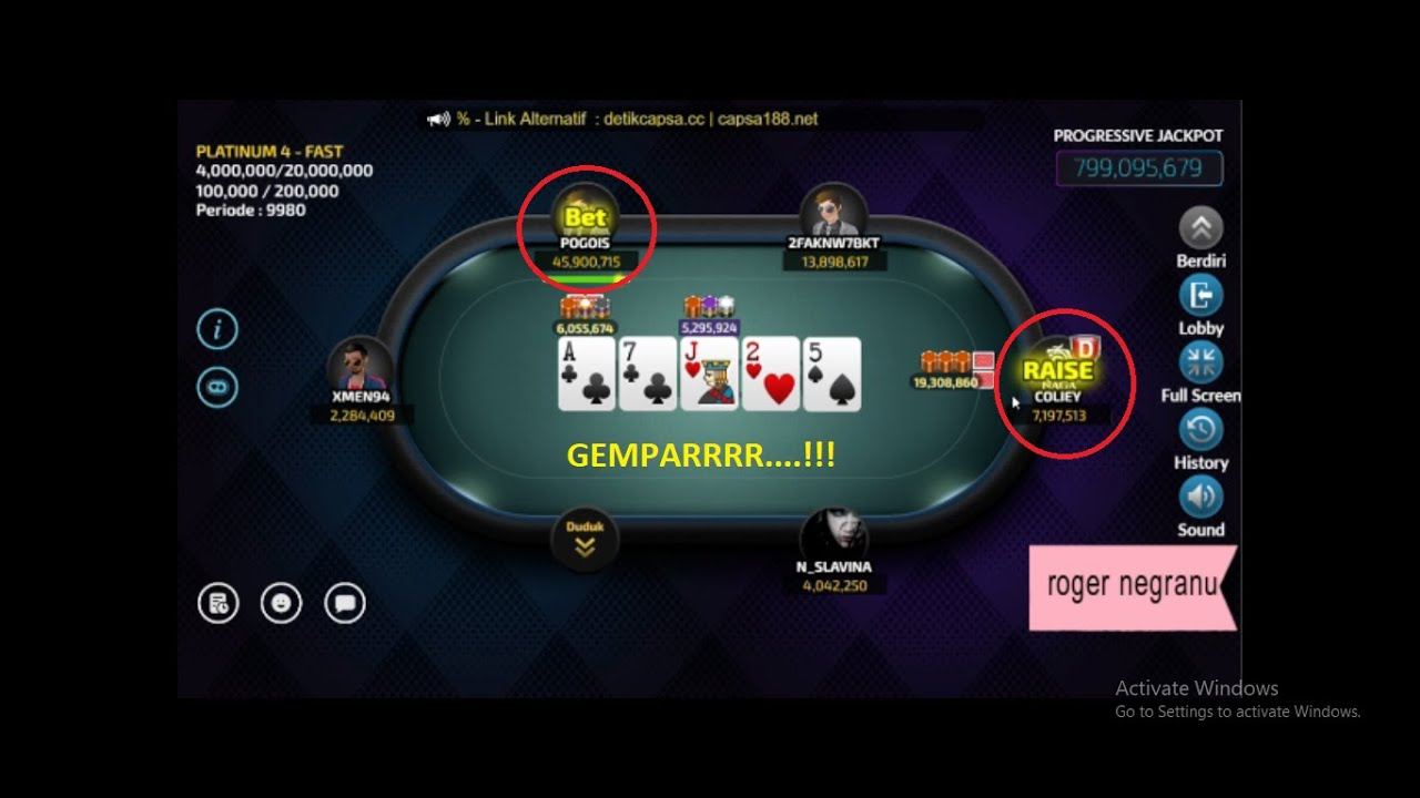 Pogois Vs Coliey Melayang 29 Juta Poker Online Youtube