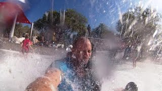 YI  2 4k Action Camera, Video test at the water park (4k 30fps)