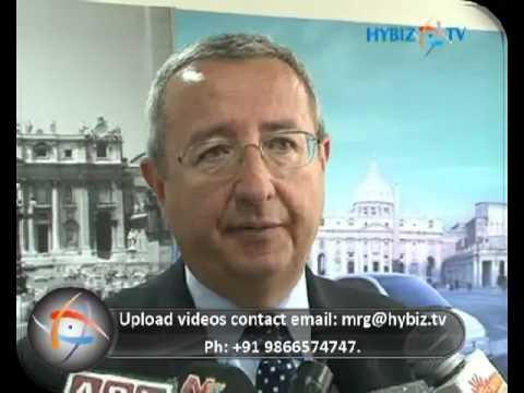 Enrico Atanasio, Head-Commercial Fiat India, Tejaswi Motors - hybiz.tv