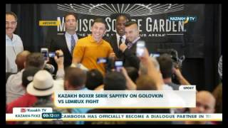 Kazakh Boxer Serik Sapiyev On Golovkin Vs Lemieux Fight