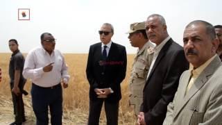 لحصاد قمح المليون ونصف فدان لمبادرة الرئيس عبدالفتاح السيسي