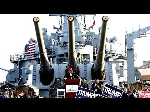 LIVE STREAM: President Donald Trump Speech at USS Gerald Ford in Newport News 3/2/2017 Trump Speech