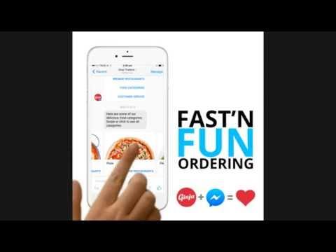 Ginja - Order Food Online Using Facebook Messenger Bot