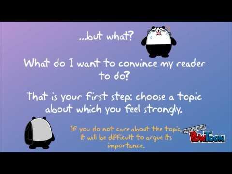 Writing to Persuade 1