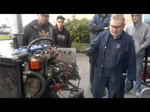 Kwantlen Polytechnic University Automotive Diesel Engine Run Daichatsu and Toyota