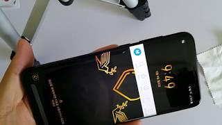 [Galaxy S8+]스코코 전면 풀커버 강화유리와 후…