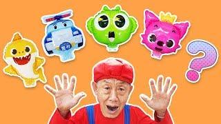 영어 배우기! 인기 동요 Finger family Nursery Rhymes أغنية الأطفال Lagu Anak anak - Romiyu story