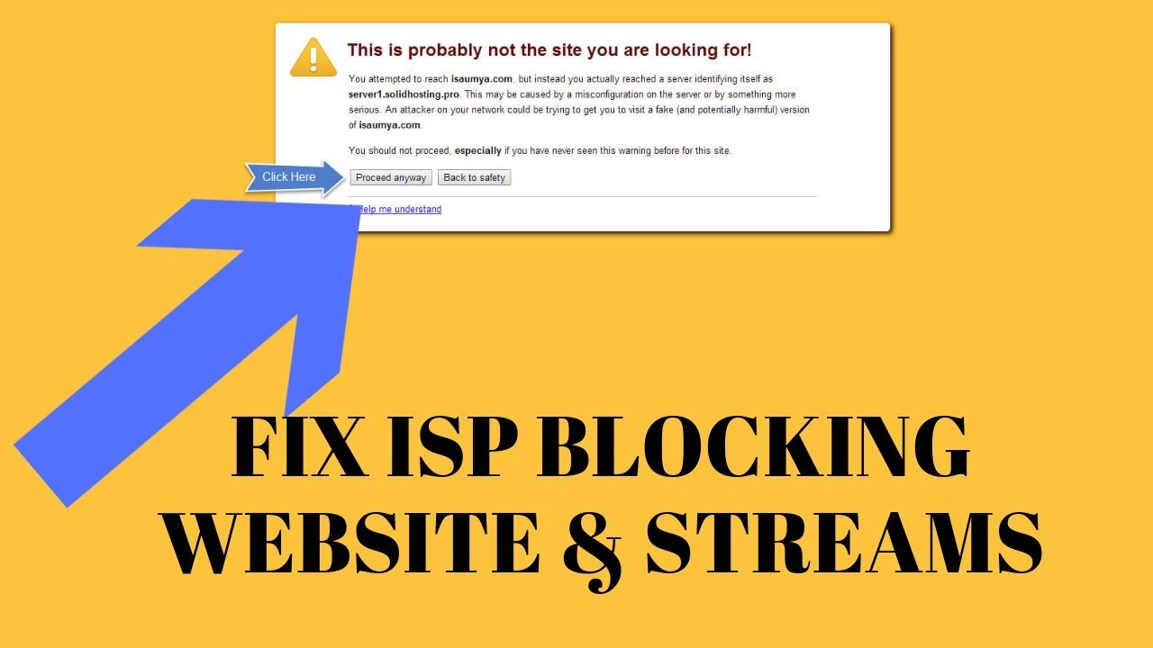 HOW TO FIX ISP BLOCKING WEBSITES AND KODI STREAMS (REMOVE UK ISP BLOCK AND  REMOVE US ISP BLOCK)