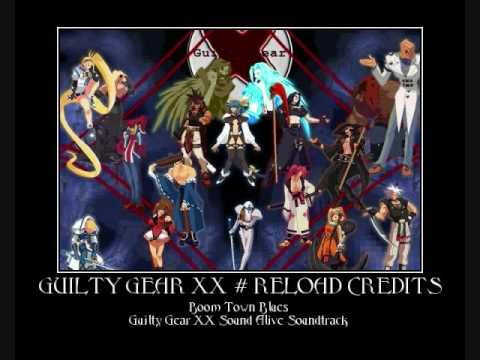 Boom Town Blues Guilty Gear XX Sound Alive Soundtrack