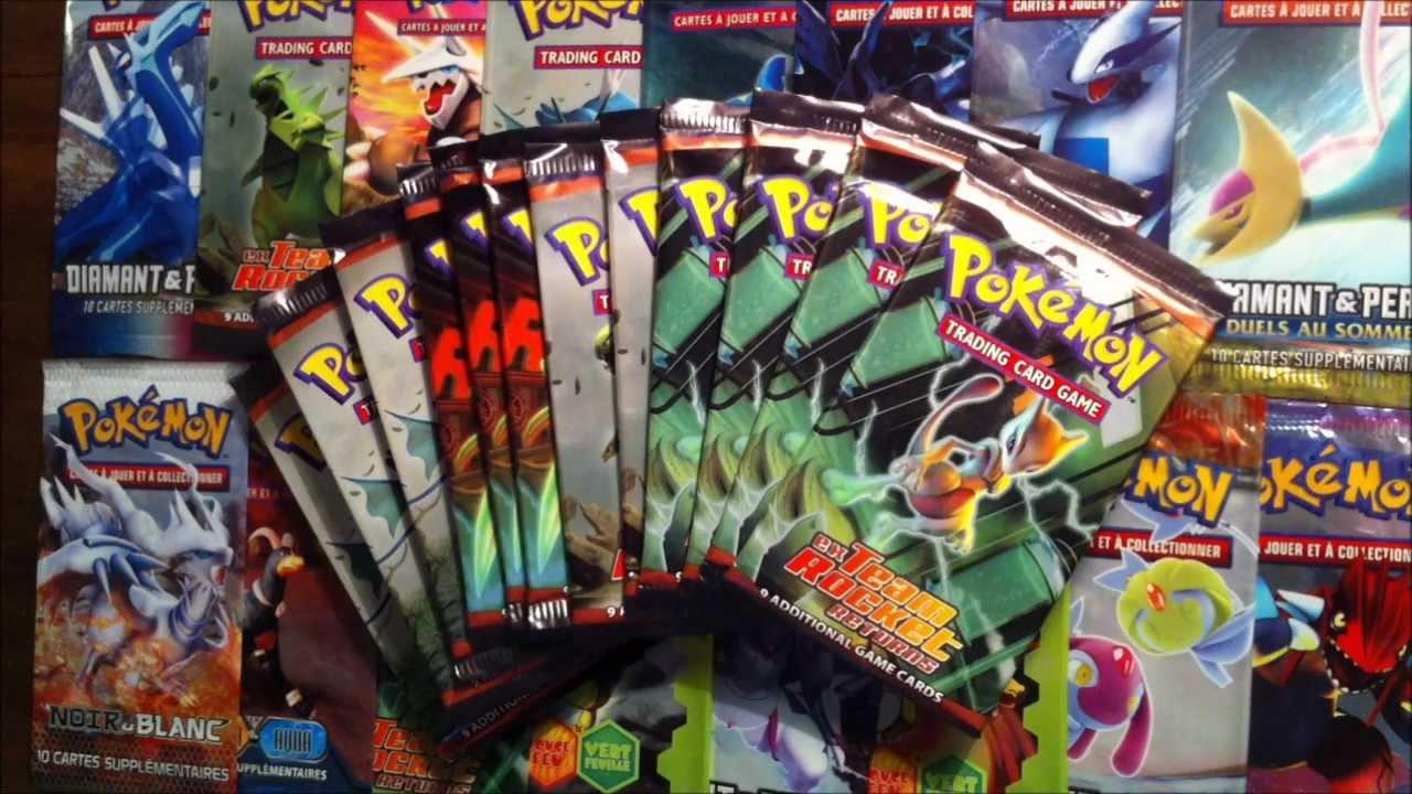 Ouverture de 12 boosters pokemon ex team rocket returns - Photo pokemon ex ...