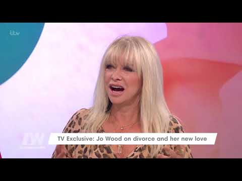 Jo Wood Feels that Divorcing Ronnie Wood Was Her Best Decision | Loose Women