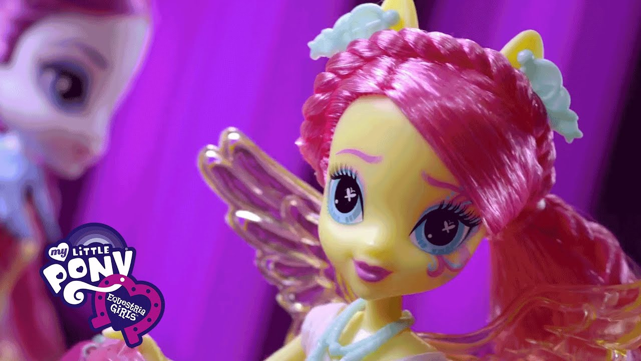 MLP Equestria Girls Toys Rockin Hairstyles Dolls TV Promo - Rockin hairstyles dolls