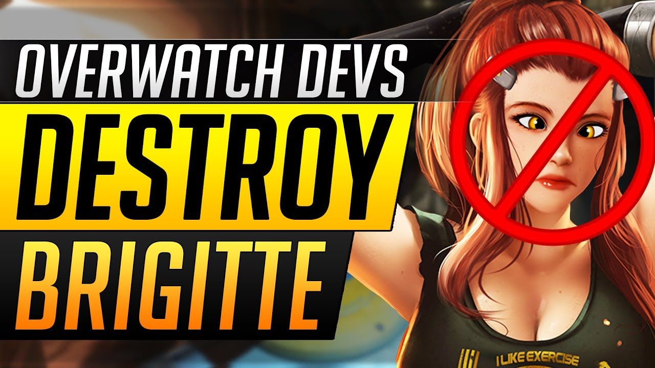 Overwatch Devs DESTROY Brigitte - NEW Tank Changes, Nerfs and Buffs - Overwatch Update Guide