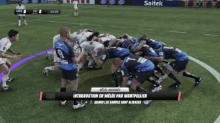 Rugby Challenge 3 : Carrière : [Saison 1]Journée 1 & 2