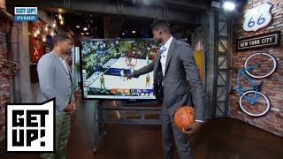 Jalen Rose and Mo Bamba break down film of his notable college plays | Get Up! | ESPN