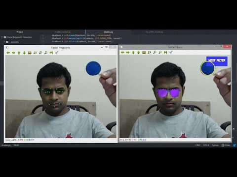 Tutorial: Selfie Filters Using Deep Learning And OpenCV