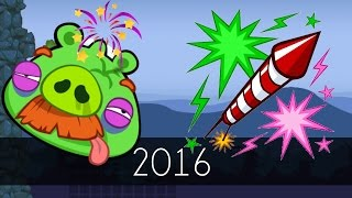 Bad Piggies - 2016 (Field of Dreams) - Happy New Year