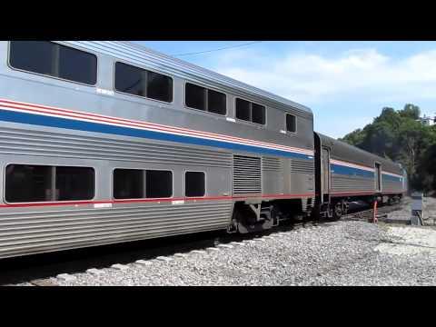 Amtrak No. 6 at Burlington, IA - July 14, 2012